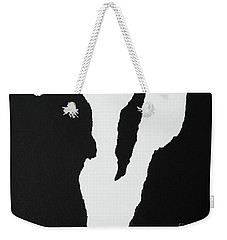 Rough V Weekender Tote Bag