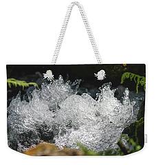 Rough Water Splash Weekender Tote Bag