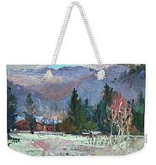 Rough Winter  Weekender Tote Bag