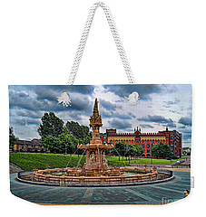 Weekender Tote Bag featuring the photograph Round About by Roberta Byram