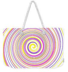 Round And Round Weekender Tote Bag
