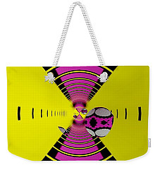 Weekender Tote Bag featuring the digital art Round Ball Art by Sheila Mcdonald