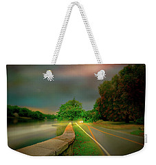 Weekender Tote Bag featuring the photograph Round The Bend by Diana Angstadt