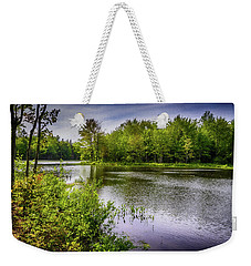Weekender Tote Bag featuring the photograph Round The Bend In Oil 36 by Mark Myhaver