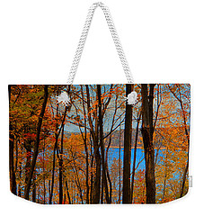 Round Valley State Park 5 Weekender Tote Bag by Raymond Salani III