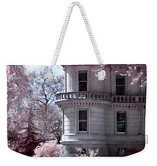Rounded Corner Tower Weekender Tote Bag