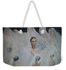 Roundelay. Ballet Dancers Weekender Tote Bag