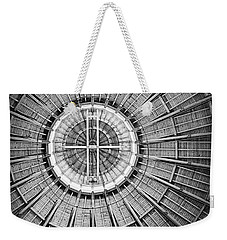 Roundhouse Architecture - Black And White Weekender Tote Bag