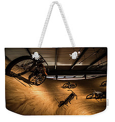 Weekender Tote Bag featuring the photograph Rounding The Bend by Randy Scherkenbach