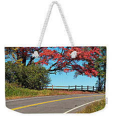 Route 5 Color Weekender Tote Bag