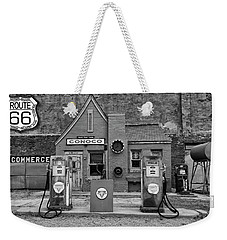 Route 66 Filling Station Weekender Tote Bag