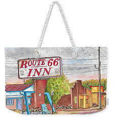Route 66 Inn In Amarillo, Texas Weekender Tote Bag