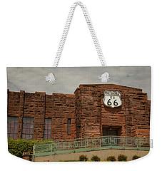 Route 66 Museum Weekender Tote Bag