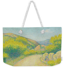 Route De Campagne Weekender Tote Bag by Achille Lauge