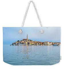 Rovinj In The Early Morning Fog, Istria, Croatia Weekender Tote Bag