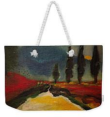 Row Of Cypress Weekender Tote Bag