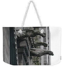 Row Of Gargoyles Weekender Tote Bag