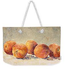 Kokopelli Peaches Weekender Tote Bag