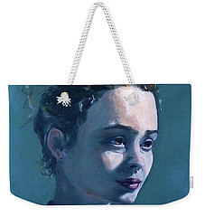 Weekender Tote Bag featuring the painting Rowan by Diane Daigle
