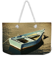Rowboat At Twilight Weekender Tote Bag
