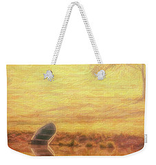 Weekender Tote Bag featuring the photograph Rowboat by Tom Mc Nemar
