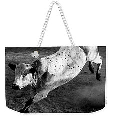 Rowdy Bucking Bull Weekender Tote Bag