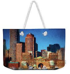 Rowes Wharf Boston Weekender Tote Bag