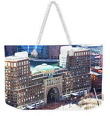 Rowes Wharf Building Weekender Tote Bag