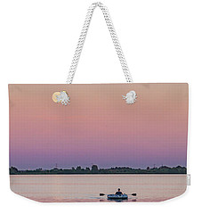 Rowing To The Moon Weekender Tote Bag