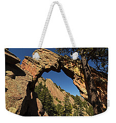 Royal Arch Trail Arch Boulder Colorado Weekender Tote Bag