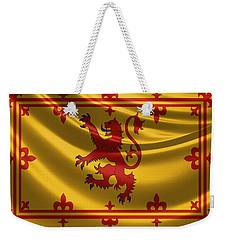 Royal Banner Of The Royal Arms Of Scotland Weekender Tote Bag