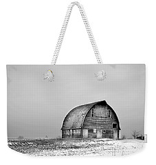 Royal Barn Bw Weekender Tote Bag