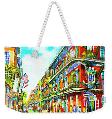 Royal Carriage - New Orleans French Quarter Weekender Tote Bag