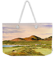 Royal County Down Golf Course Weekender Tote Bag