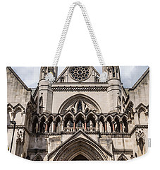 Royal Courts Of Justice In London Weekender Tote Bag