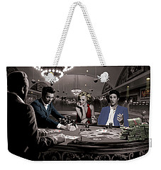 Royal Flush Weekender Tote Bag by Chris Consani