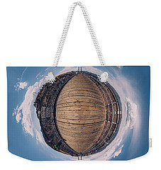 Royal Gorge Bridge Tiny Planet Weekender Tote Bag