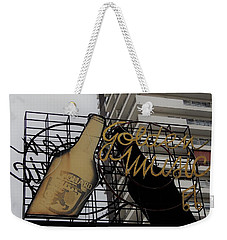 Royal Guard Cerveza And Golden Music Sign Weekender Tote Bag