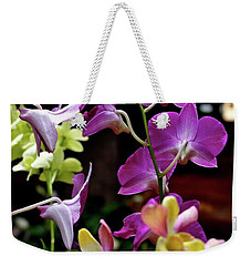 Weekender Tote Bag featuring the photograph Royal Hawaiian Orchids by Michele Myers