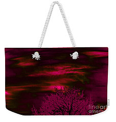 Purple Rain Weekender Tote Bag by Jesse Ciazza