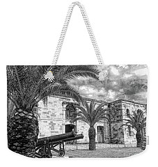 Weekender Tote Bag featuring the photograph Royal Navy Dockyard Fort - Bermuda by Luther Fine Art