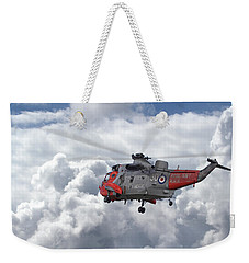 Weekender Tote Bag featuring the photograph Royal Navy - Sea King by Pat Speirs