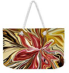 Royal Orchid Weekender Tote Bag by Rabi Khan