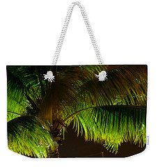 Royal Palm Night Out Weekender Tote Bag
