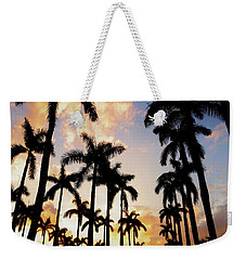 Royal Palm Way Weekender Tote Bag