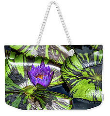Royal Purple Weekender Tote Bag