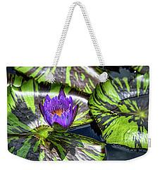 Royal Purple Weekender Tote Bag by Dennis Baswell