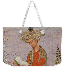 Royal Reader Weekender Tote Bag by Asok Mukhopadhyay