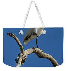 Royal Spoonbill 01 Weekender Tote Bag