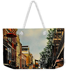 Royal Street Strole Weekender Tote Bag
